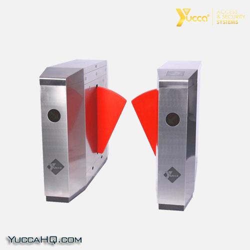 گیت کنترل تردد شیشه ای یوکا | Access Control Gate