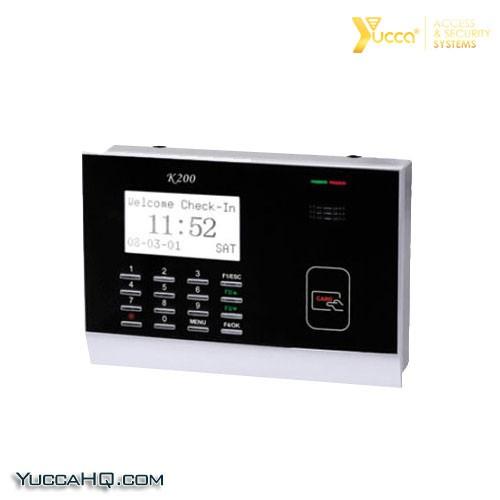 دستگاه حضور و غیاب کارتی یوکا مدل YC-200