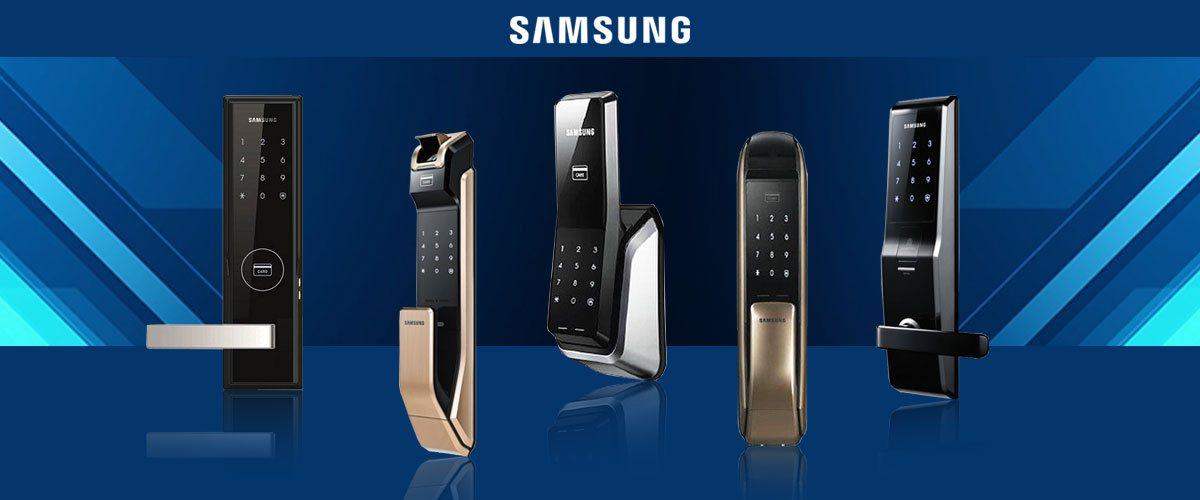 قفل دیجیتال سامسونگ قفل Samsung قفل سامسونگ با گارانتی یوکا