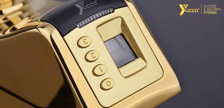 کیبورد سه بعدی در قفل اثر انگشتی یوکا مدل UF-YC