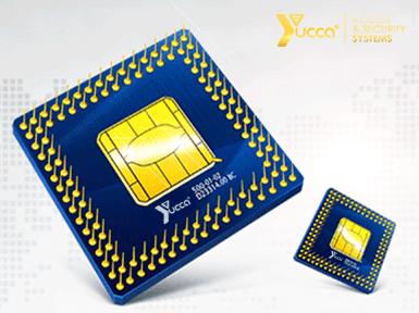 chip با عملکرد بسیار بالا در قفل اثرانگشتی یوکا مدل UF-YC