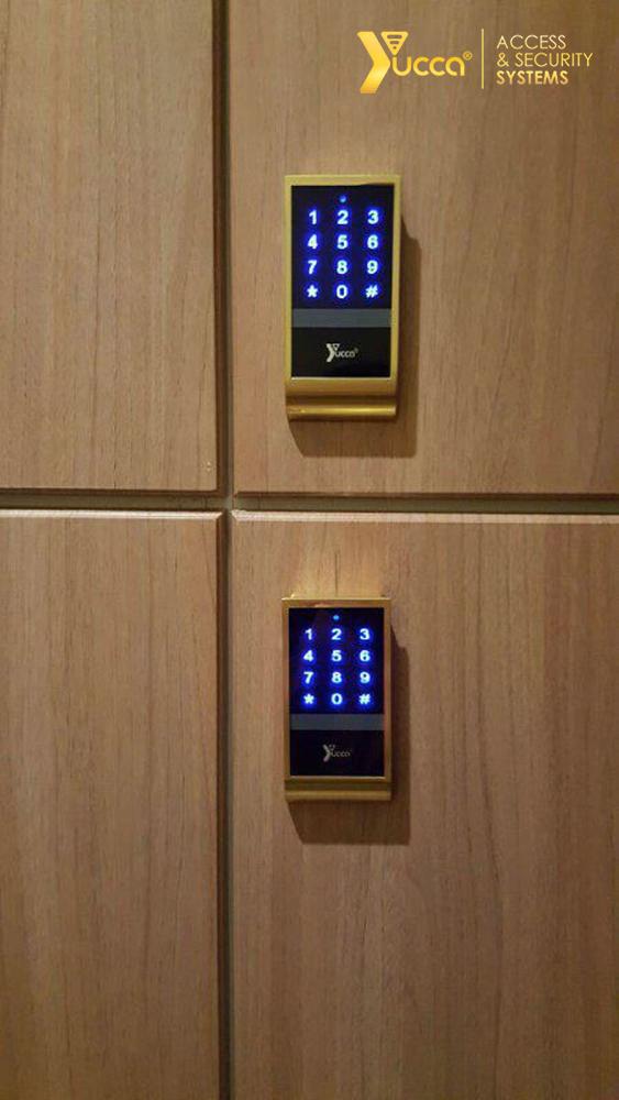 قفل الکترونیکی کمد - مشتریان یوکا