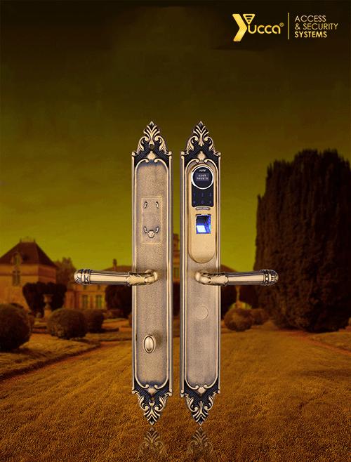 قفل اثر انگشتی سلطنتی