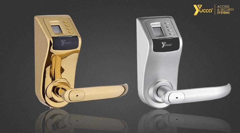 رنگ های متنوع قفل دیجیتال اثر انگشتی یوکا مدلUF-YC