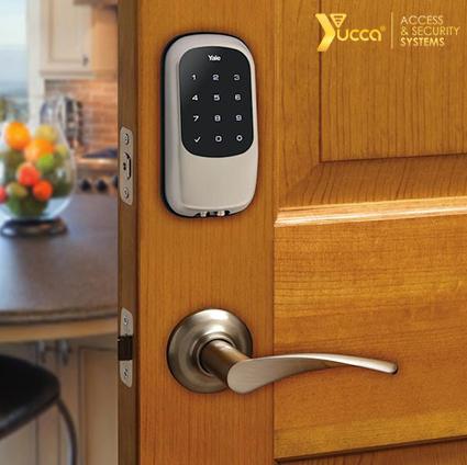 سیستم امنیتی قفل الکترونیکی - قفل هوشمند یوکا