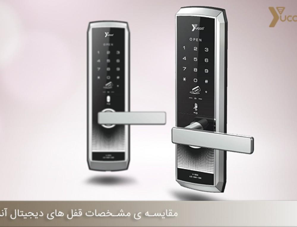 مقایسه ی مشخصات قفل های دیجیتال آنلاین و آفلاین