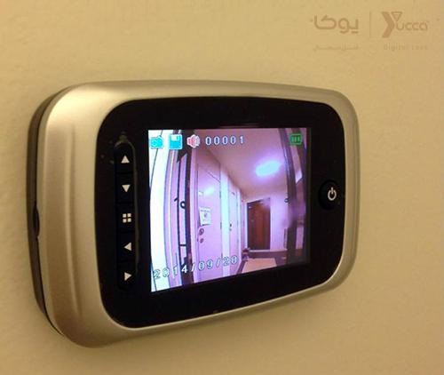 تجهیزاتی که امنیت خانه شما را فراهم می کنند - قفل دیجیتال - چشمی درب دیجیتال