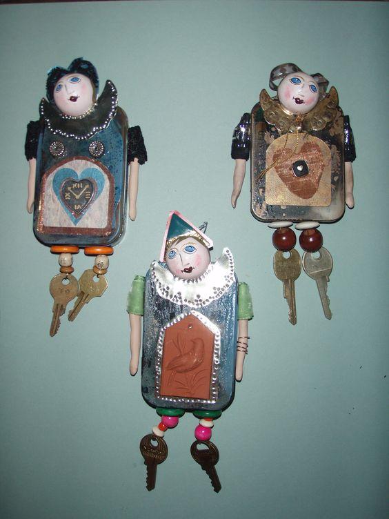 ساخت عروسک با کلید