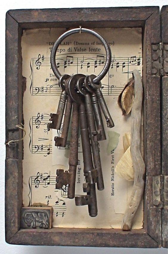ساخت تابلو دیواری با کلید