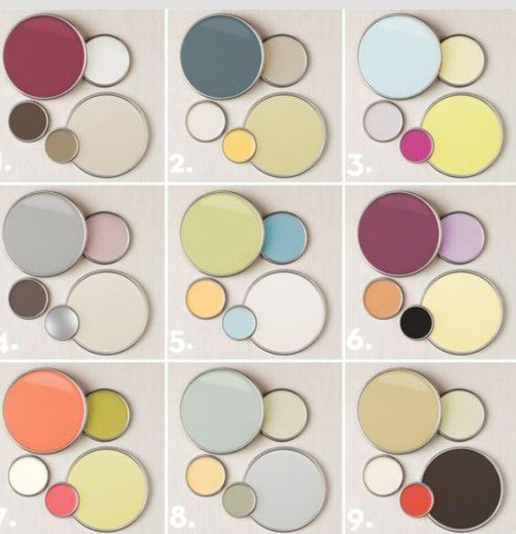 پالت پیشنهادی رنگ خانه