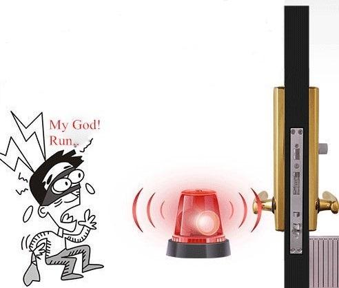 آلارم ضد سرقت در قفل دیجیتال درب اثر انگشتی