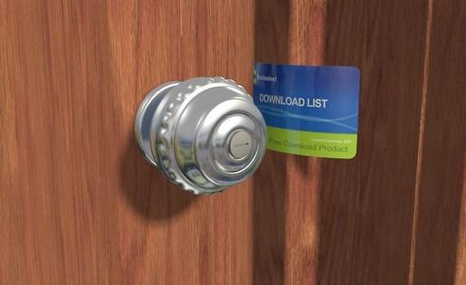 باز کردن قفل درب با کارت اعتباری