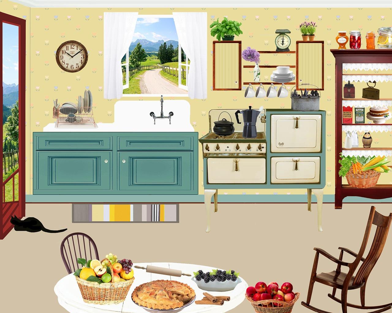 بازسازی آشپزخانه و سرویس بهداشتی