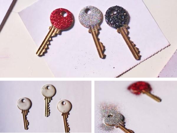 تزئین کلیدهای دور ریختنی