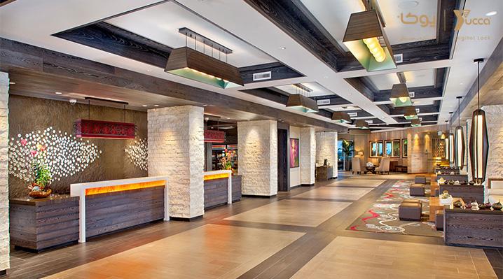 اشتباهات رایج در طراحی هتل ها - قفل دیجیتال