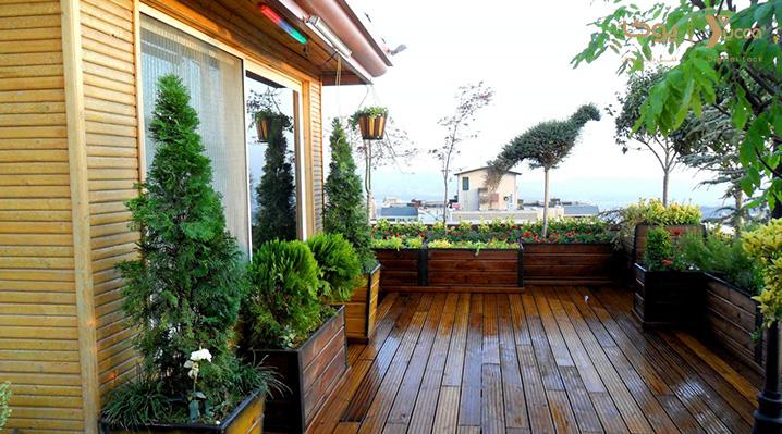 رجوع به طبیعت در زندگی شهری با بام باغ های هتلی - قفل دیجیتال