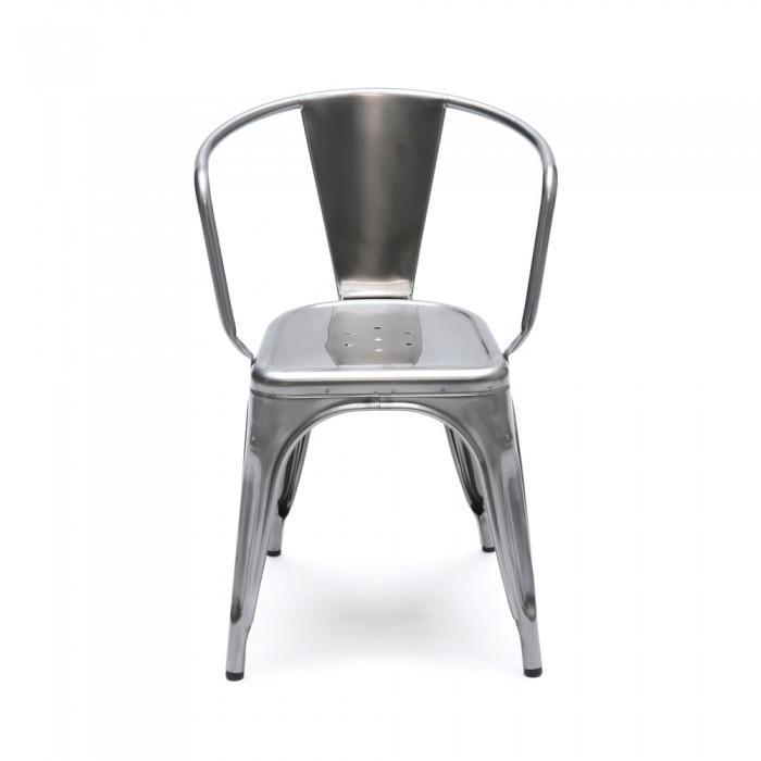 صندلی تولیکس نقره ای در دکوراسیون خانه لوکس و مدرن