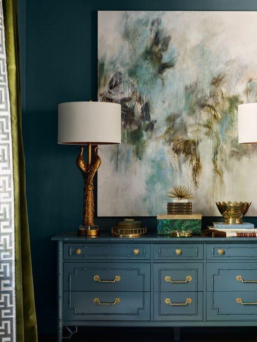 دکوراسیون طلایی در خانه کلاسیک و مدرن