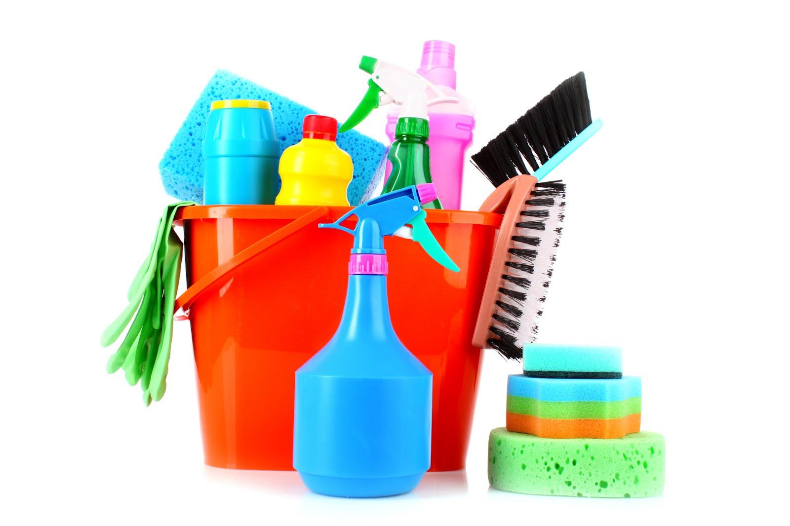 برای تمیز کردن خانه از مواد شوینده به اندازه استفاده کنید