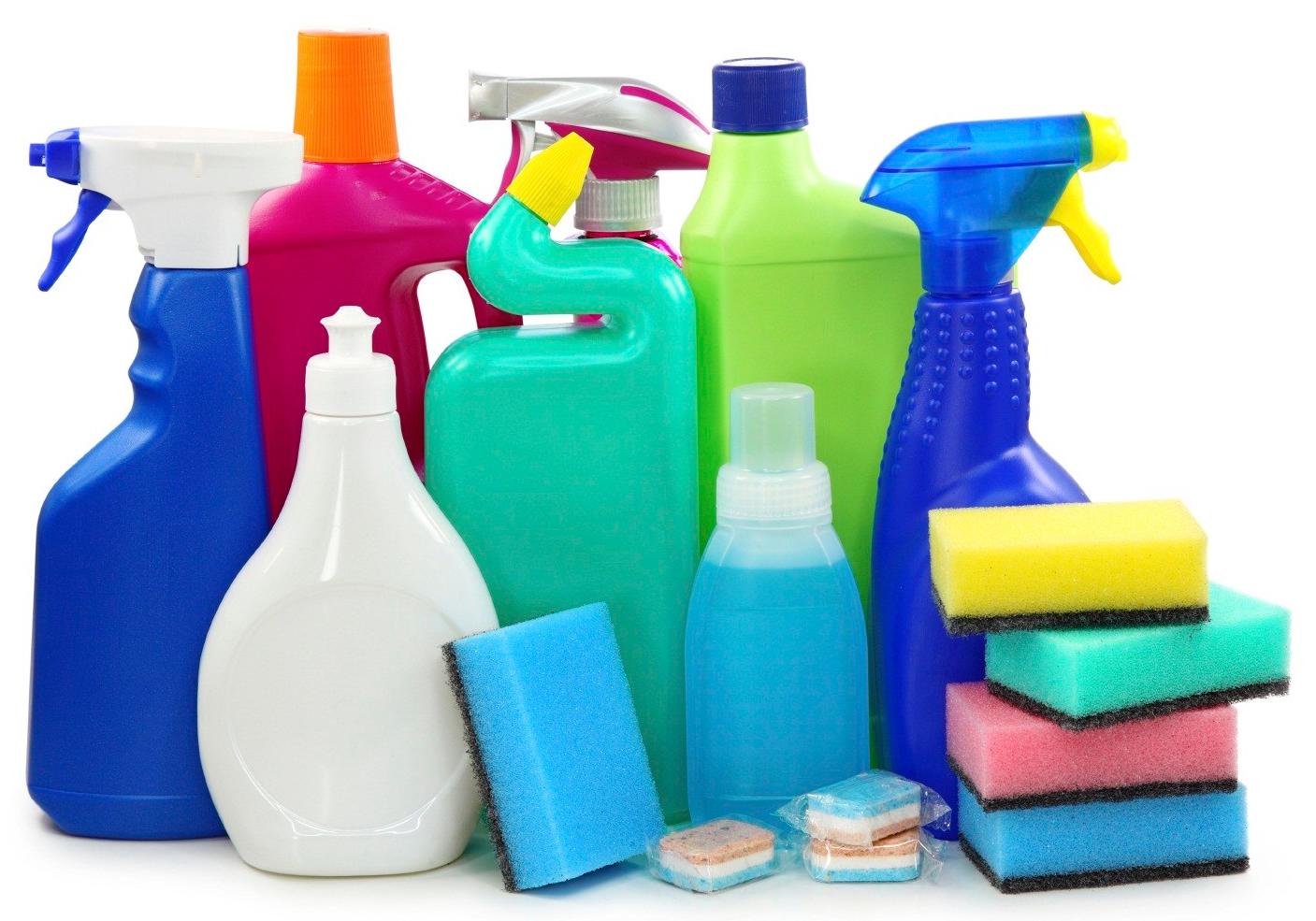 فقط از یک نوع ماده شستشو برای تمیز کردن خانه استفاده کنید