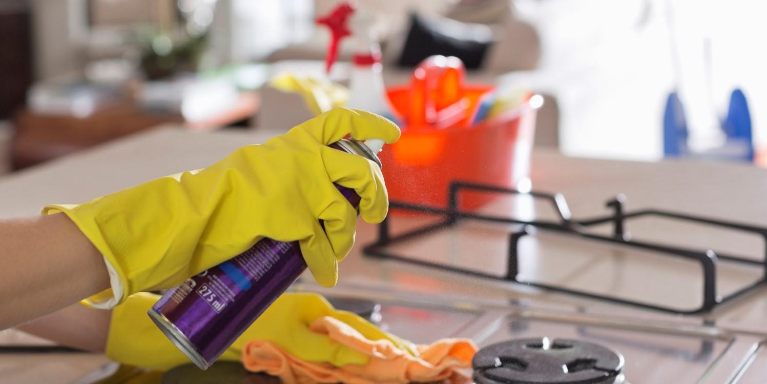 روش تمیز کردن خانه
