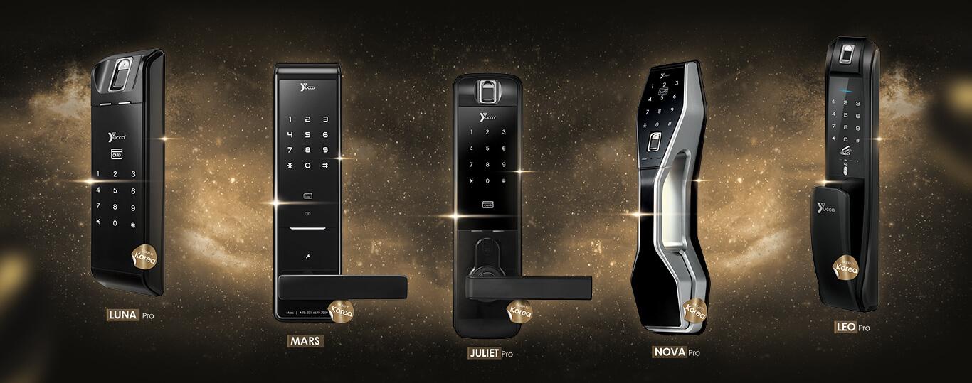 انواع قفل دیجیتال
