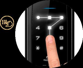 رمزگذاری قفل های دیجیتال
