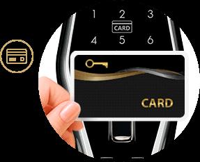 کارت هتلی RFID