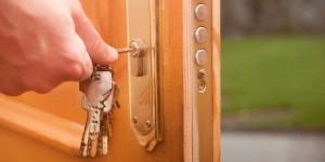 قفل معمولی درب