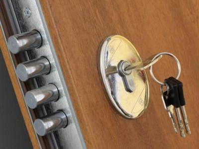 قفل درب معمولی