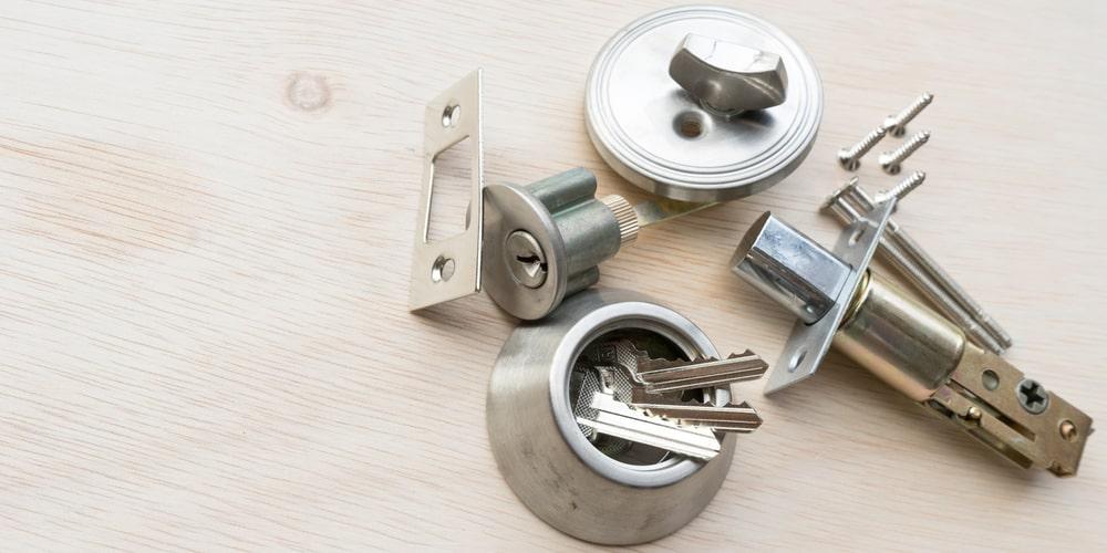 قفل چفت کلید خور