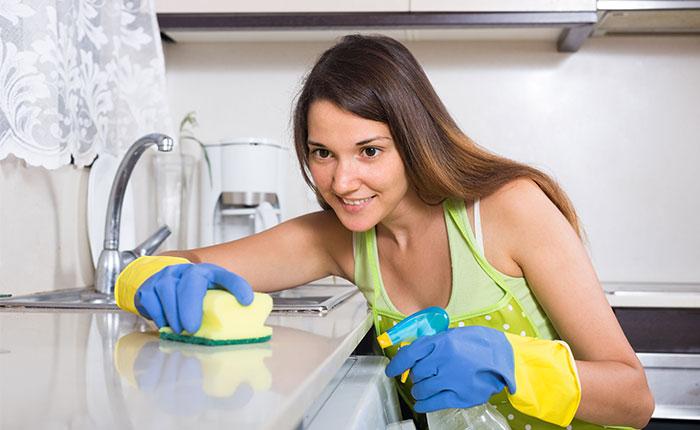 نحوه تمیز کردن خانه