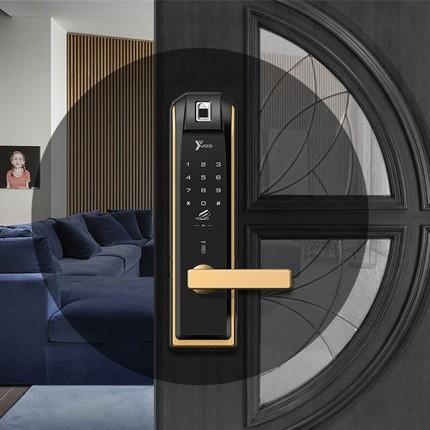 انواع درب مناسب قفل هوشمند