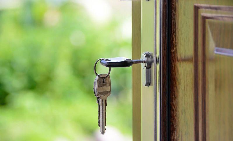 گیر کردن کلید در قفل