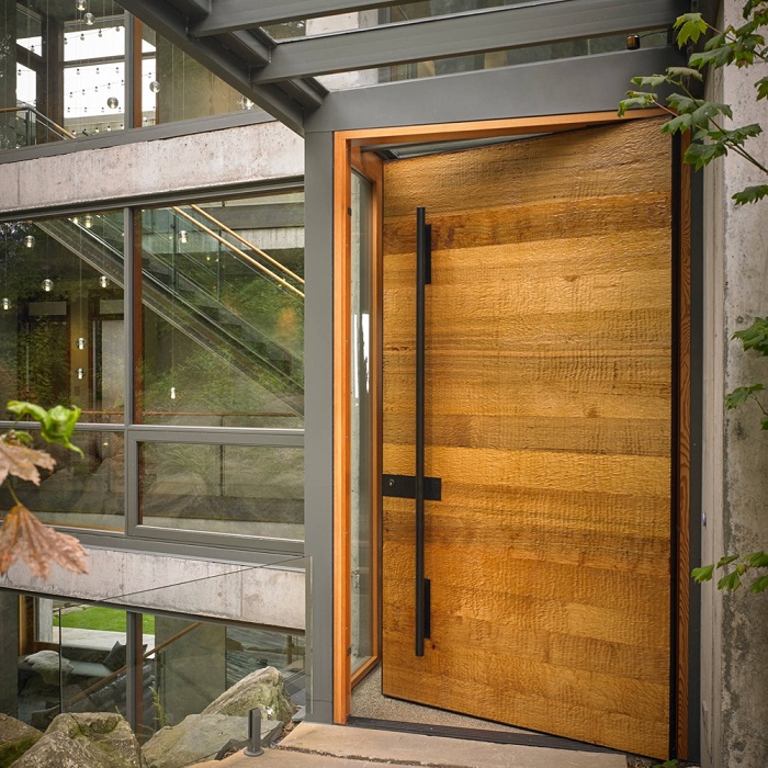 انواع درب ورودی ساختمان مسکونی