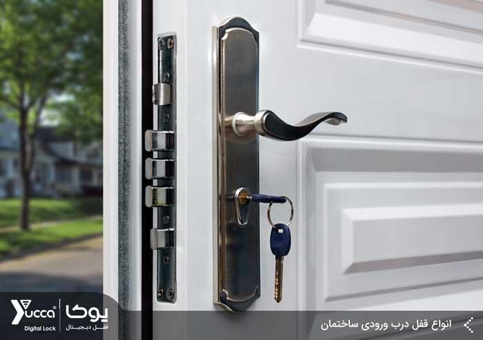 انواع قفل درب ورودی ساختمان