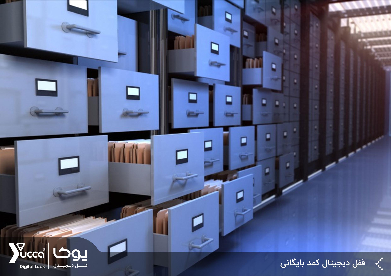 قفل دیجیتال کمد بایگانی