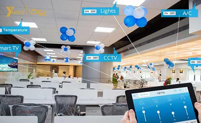 هوشمند سازی مراکز تجاری و اداری