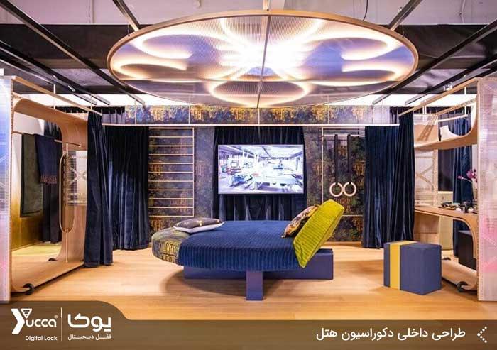 طراحی داخلی دکوراسیون هتل